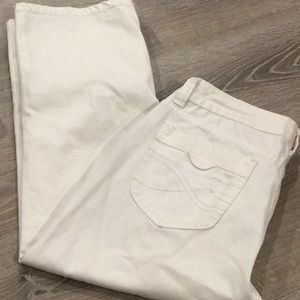 💥 DKNY Jeans~~White Ankle/Capri Jeans 💥💥